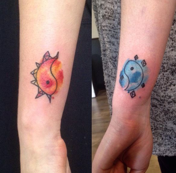 Amazing Best Friend Tattoos