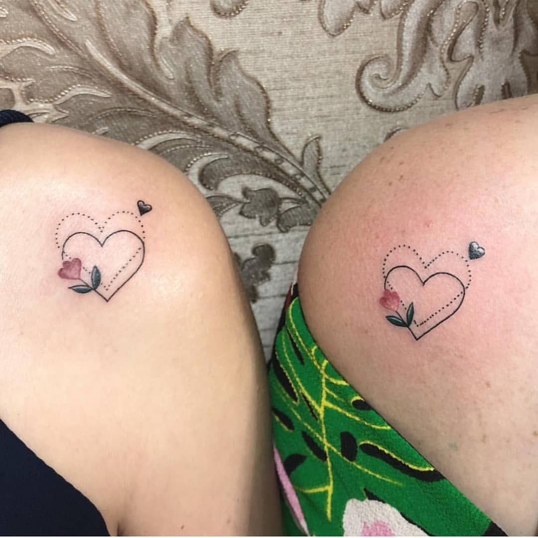 Best Friend Disney Tattoos (7)