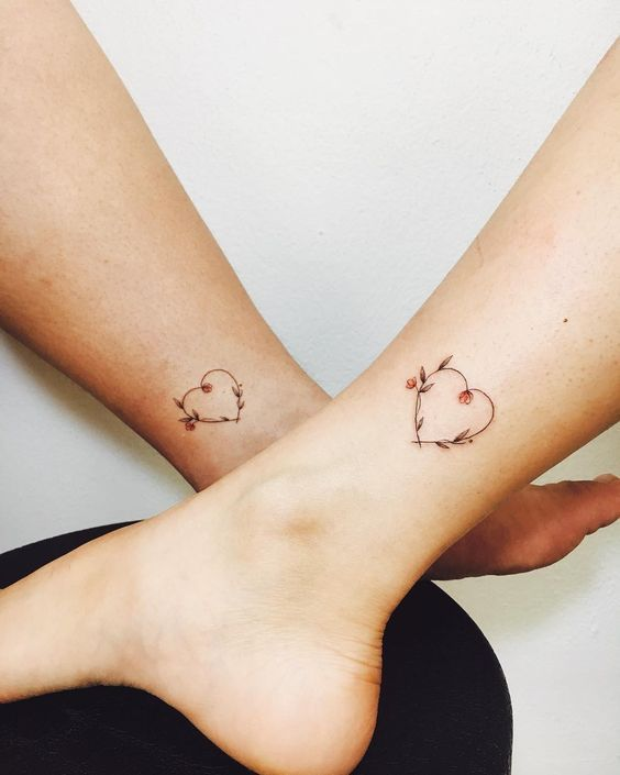 Girl Best Friend Matching Tattoos (3)