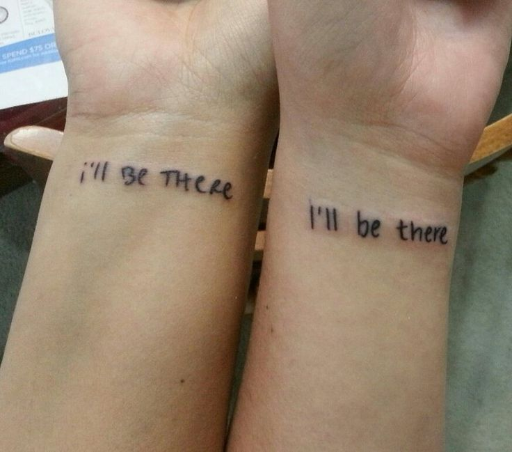 Infinity Best Friend Tattoos (3)
