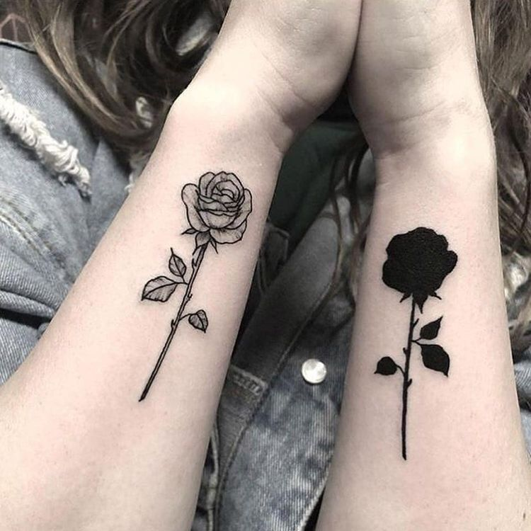 Sister Best Friend Tattoos (3)