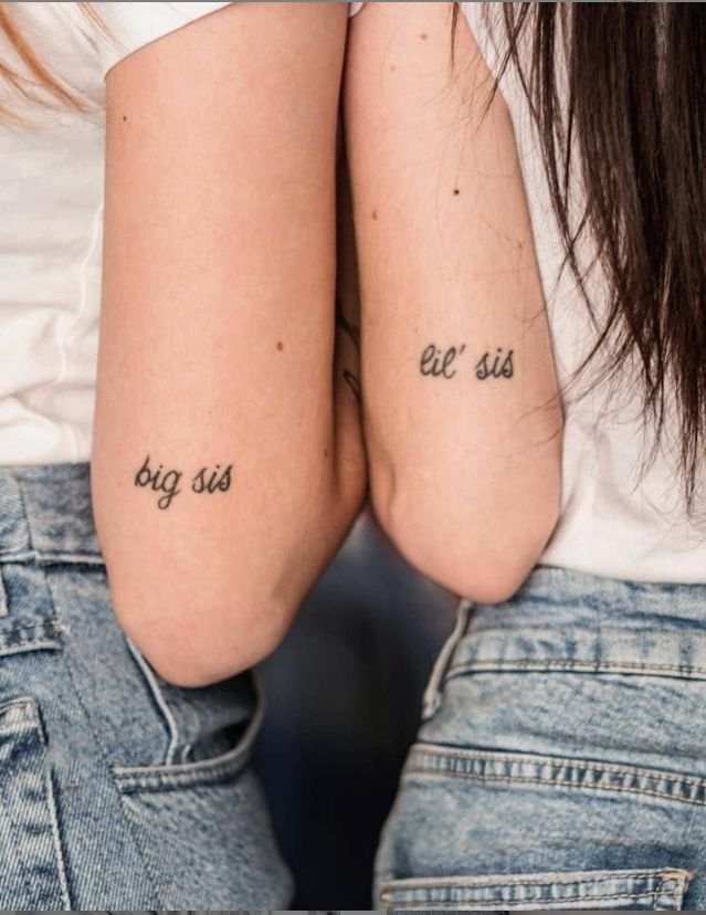 Sister Best Friend Tattoos (10)