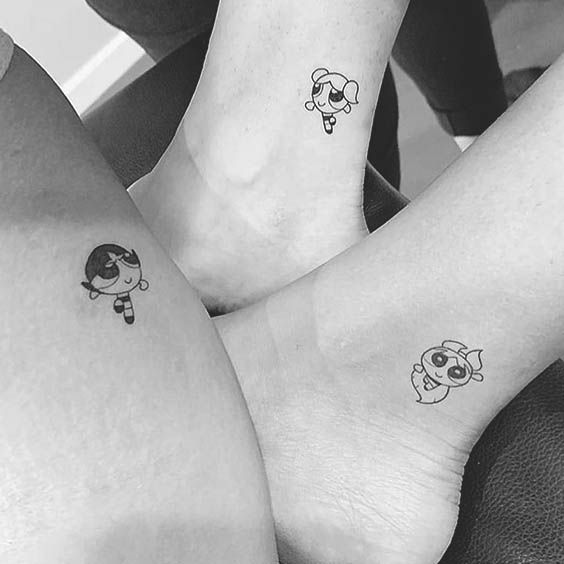 Sister Best Friend Tattoos (4)