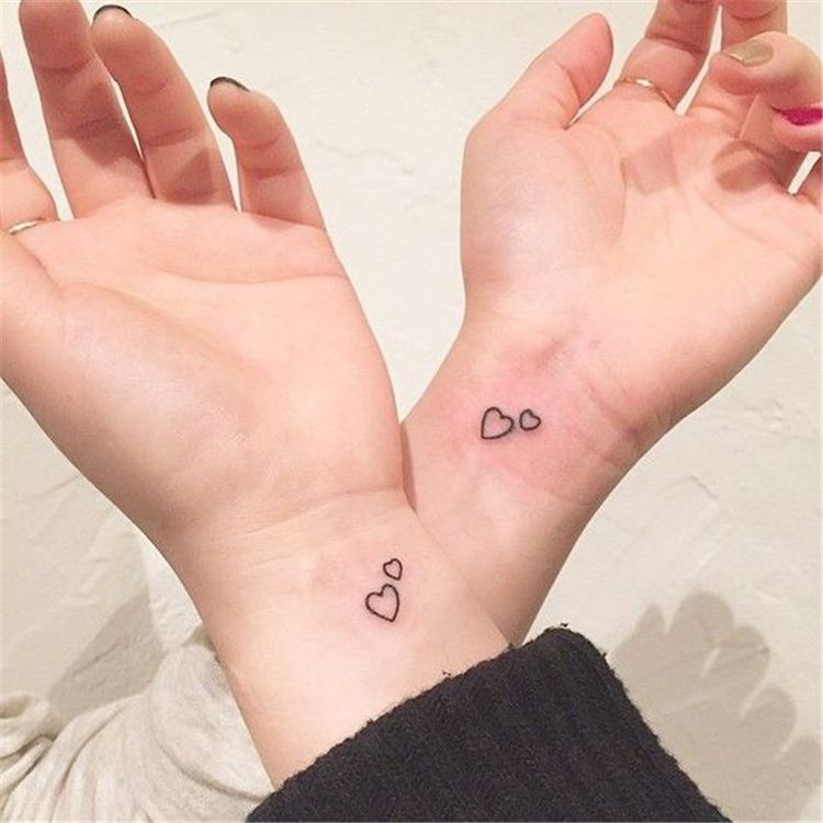 Sister Best Friend Tattoos (12)