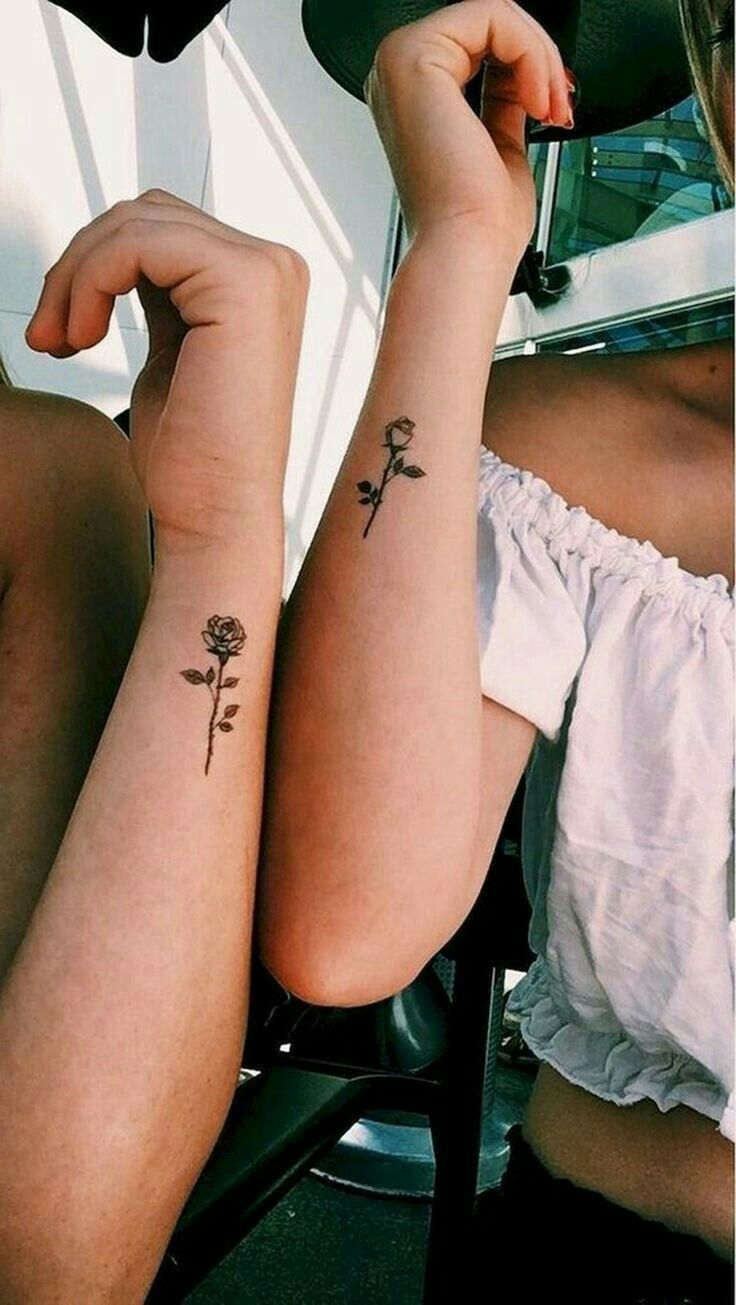 Sister Best Friend Tattoos (2)