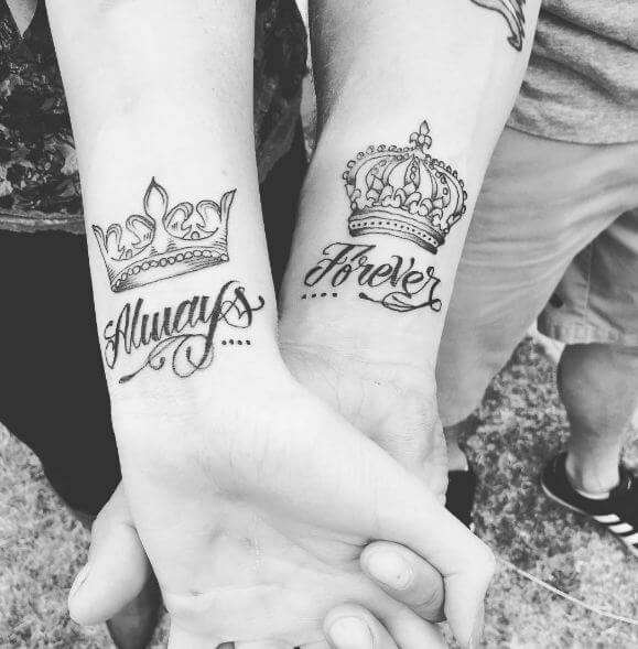 King And Queen Tattoo Drawings