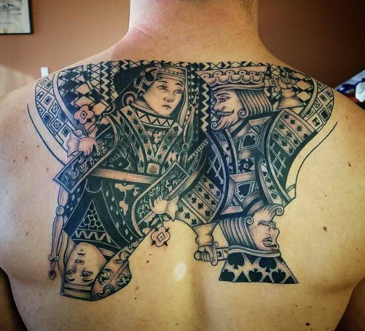 Egyptian King And Queen Tattoo