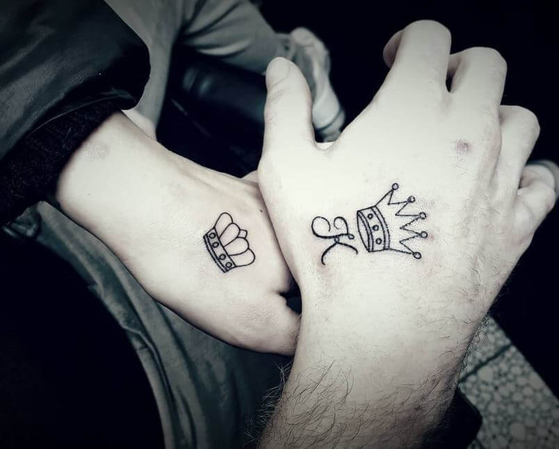 Best King And Queen Tattoos