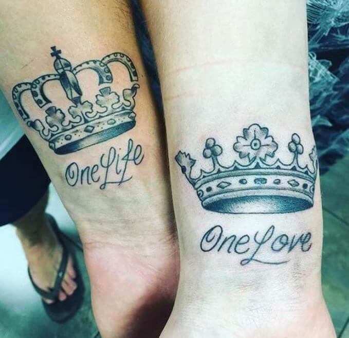 King And Queen Tattoo Quotes