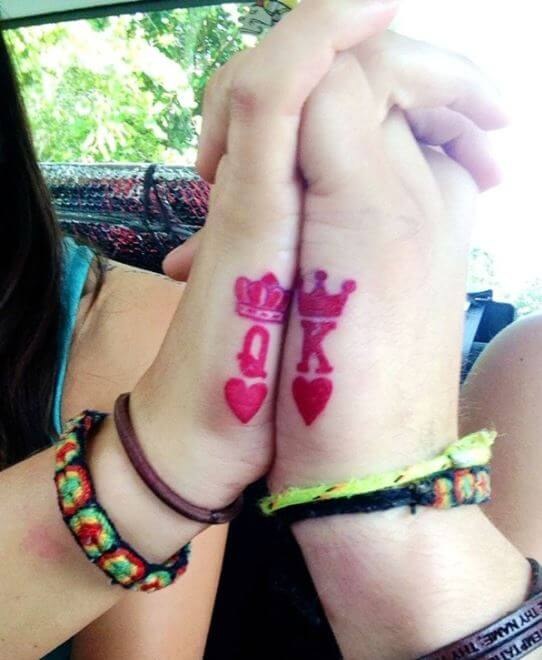 King And Queen Tattoos For Couples (1)
