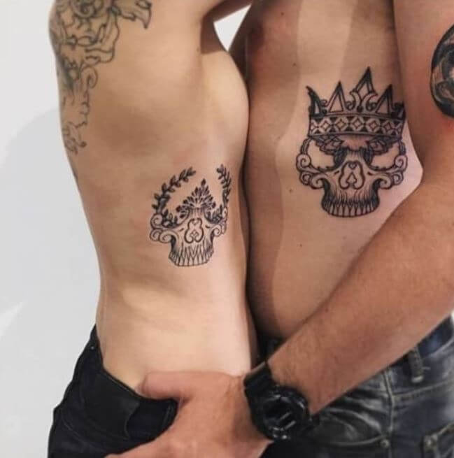 King And Queen Tattoos Pictures