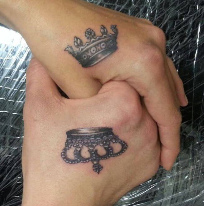 Tattoo King And Queen