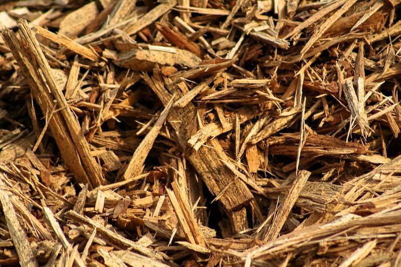 14 shredded wood mulch