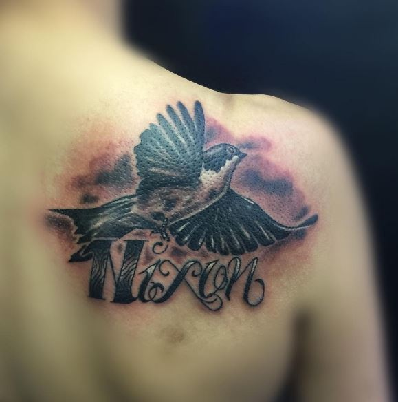 Heaven and hell tattoo