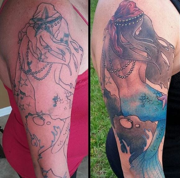 Cover up tattoo 17