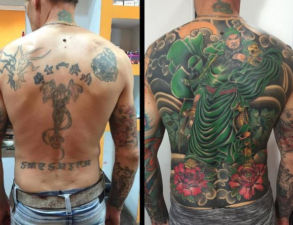 Cover up tattoo 31