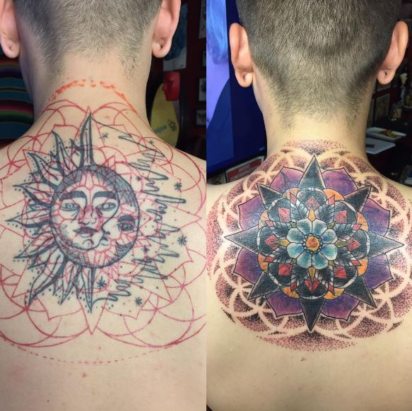 Cover up tattoo 33