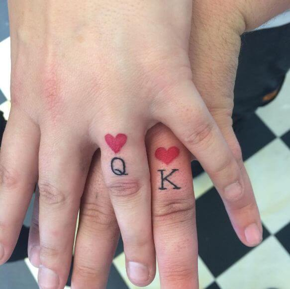 101+ King And Queen Matching Tattoos For Couples-2020