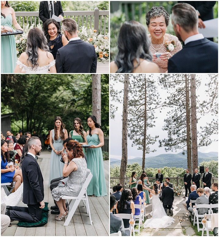 Wendy and Jon's 'Mountain View' Earth Toned New York Wedding by Love Me Do