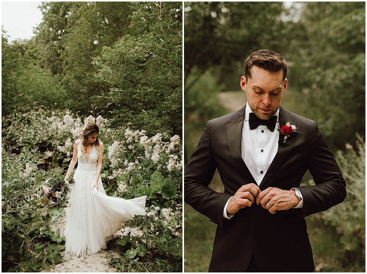 Tiffany and Trevor's Full Full, Canadian Country Club Wedding by Ariana Tennyson Photography