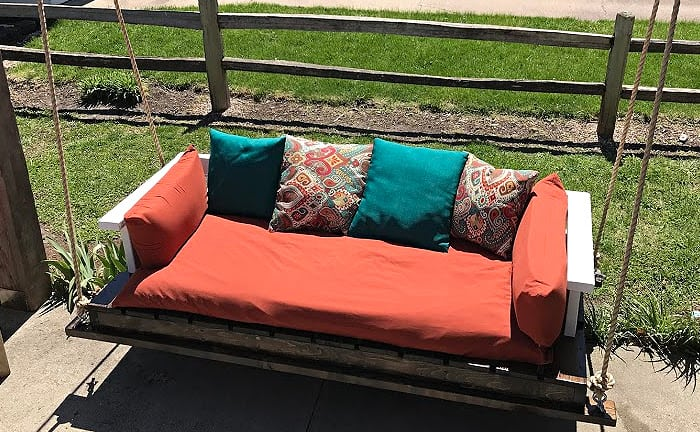 1.Porch Swing Bed