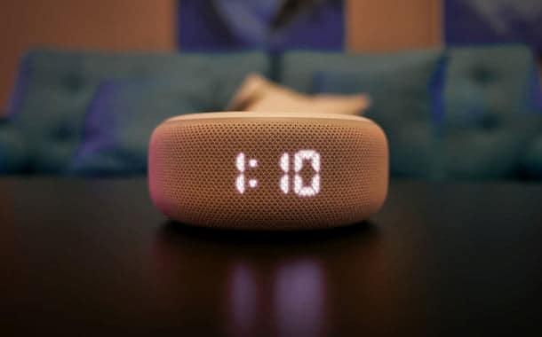 Amazon Echo Dot 3rd Gen Clock front