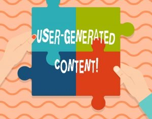 user generated content concept