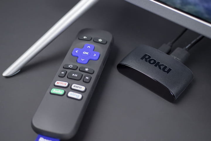 Roku Express 2019 with remote control