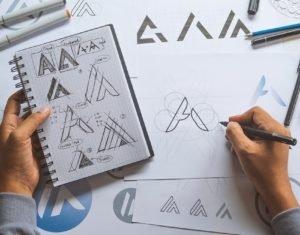 sketch design creative Ideas draft Logo