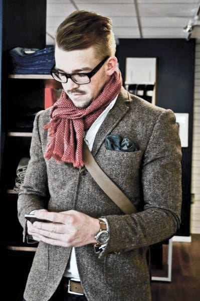 Cool Casual Wear Clothing Style with Wool Blazer