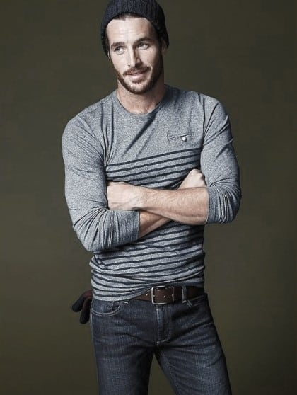 Jeans With Long Sleeve T-shirt Men Fashion Ideas With Casual Wear Style