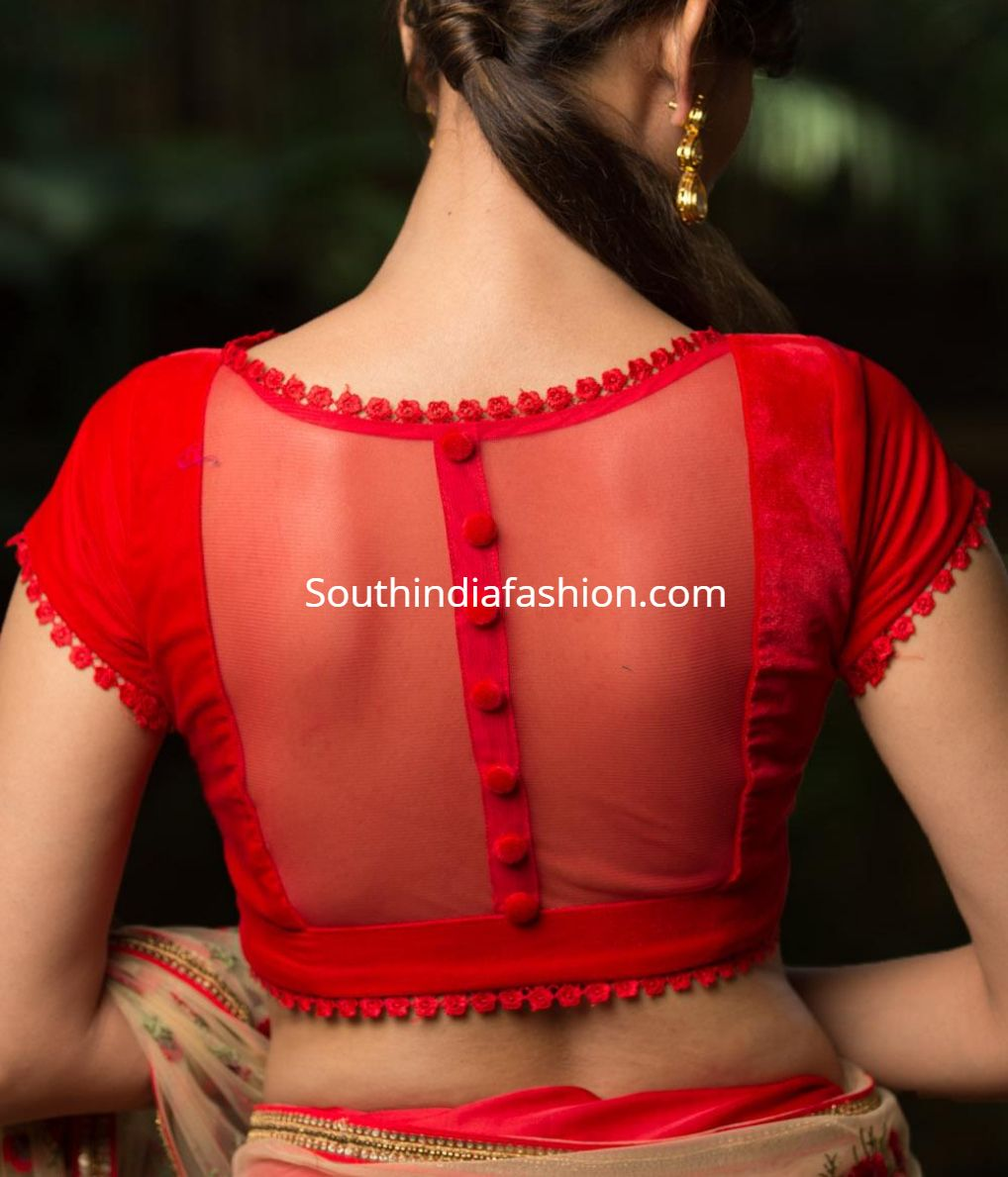 Latest Blouse Designs Images (137)