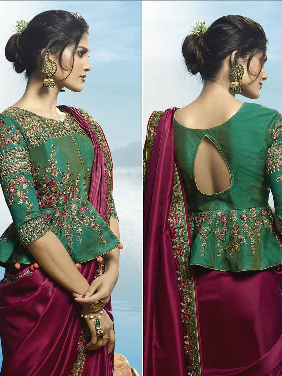 Latest Blouse Designs Images (177)