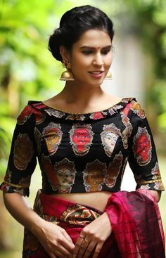 Latest Blouse Designs Images (216)