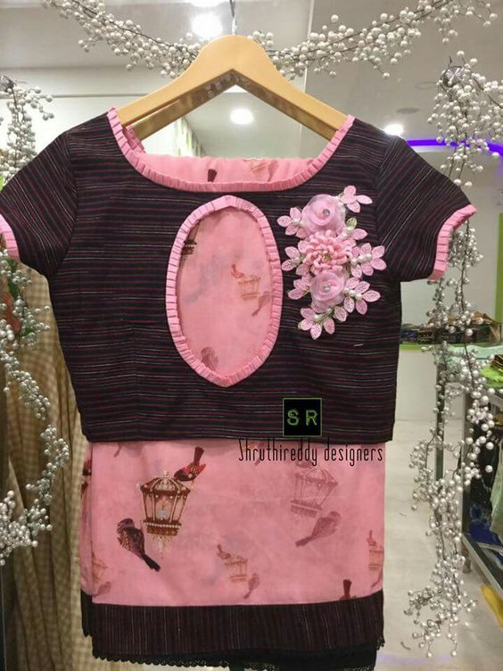 Latest Blouse Designs Images (68)