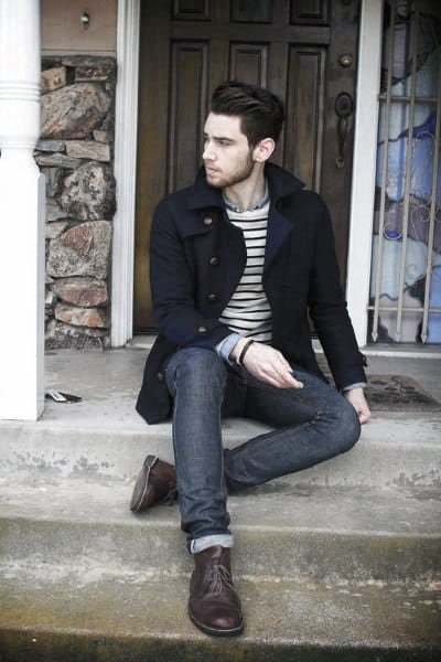 Mens Chic Casual Wear Style Design