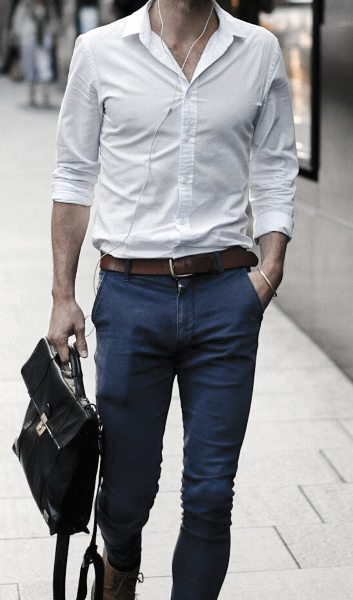 Relaxed Business Look Sharp Men's Casual Wear Styles