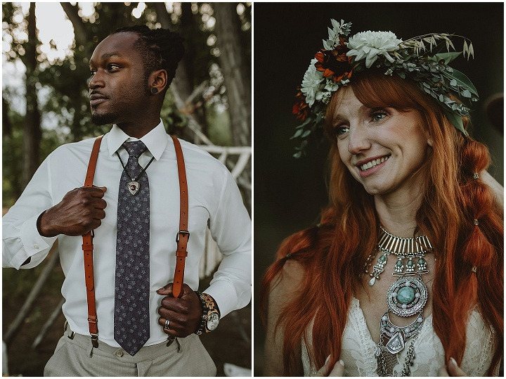 'Rustic country boho' organic chic wedding inspiration