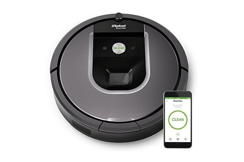 iRobot Roomba 960 robotic vacuum cleaner with Wi-Fi connectivity Powered by lithium-ion iRobot Roomba offers