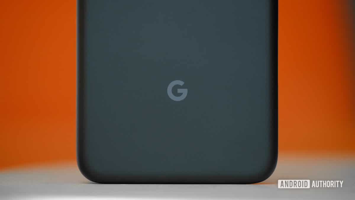 Google Pixel 4a Back Lower Half