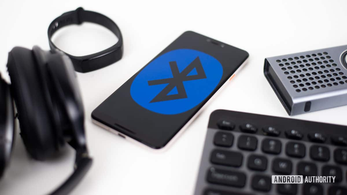 Bluetooth device stock photo 2