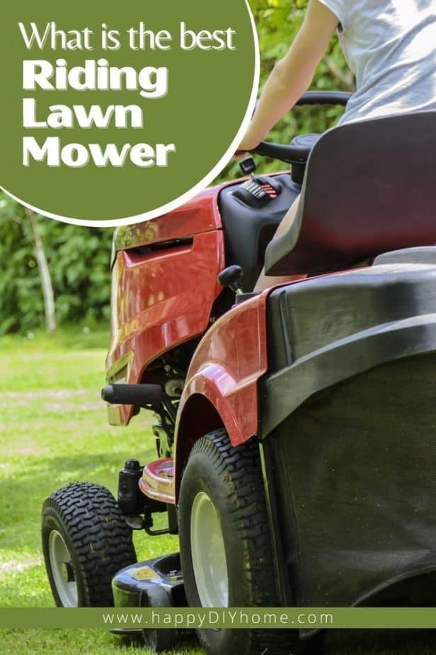 What is the best riding lawn mower