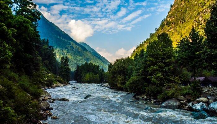 mountain ranges of Himachal Pradesh