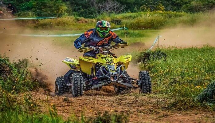 Quad motorcycling