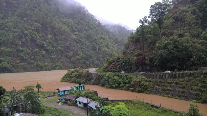 Rafting in Kalimpong