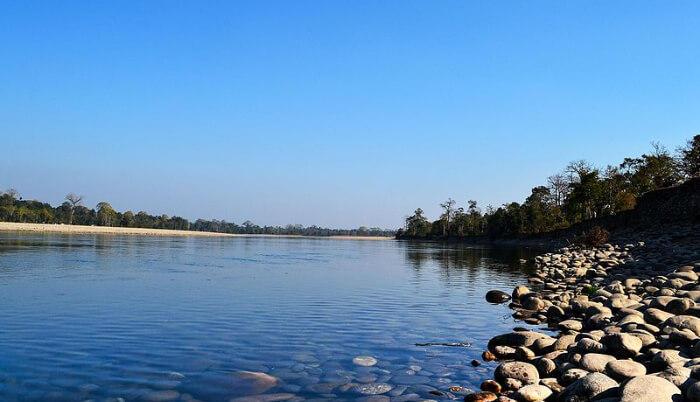 Kameng River in Assam