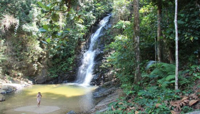 Perangin waterfall