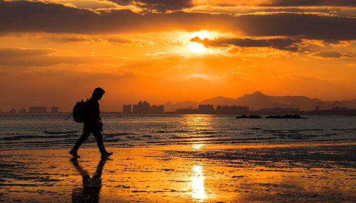 Beidaihe Beach in China