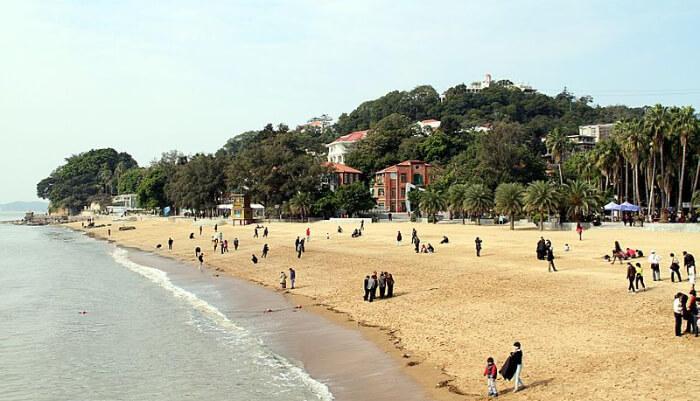 Gulangu Island Beach in China