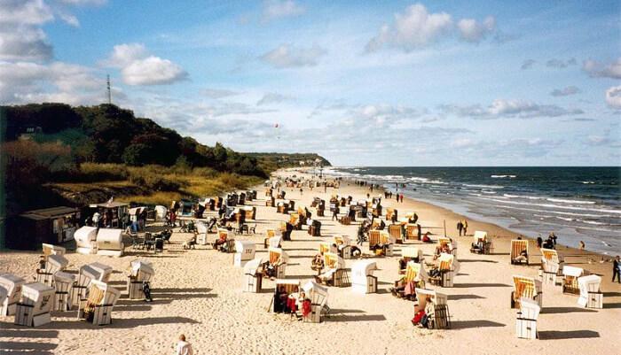 Eudom beach in germany
